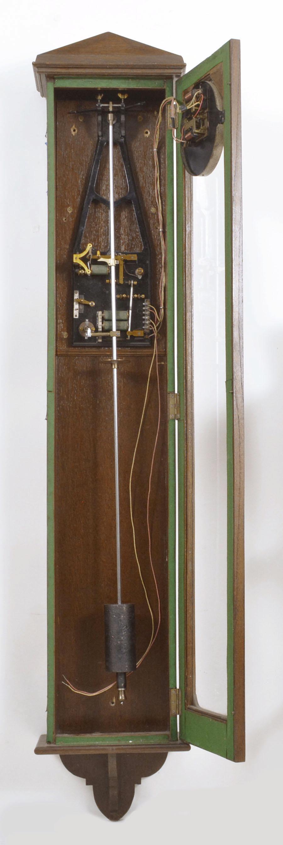 Synchronome Magnetic Free Pendulum Clock Prototype